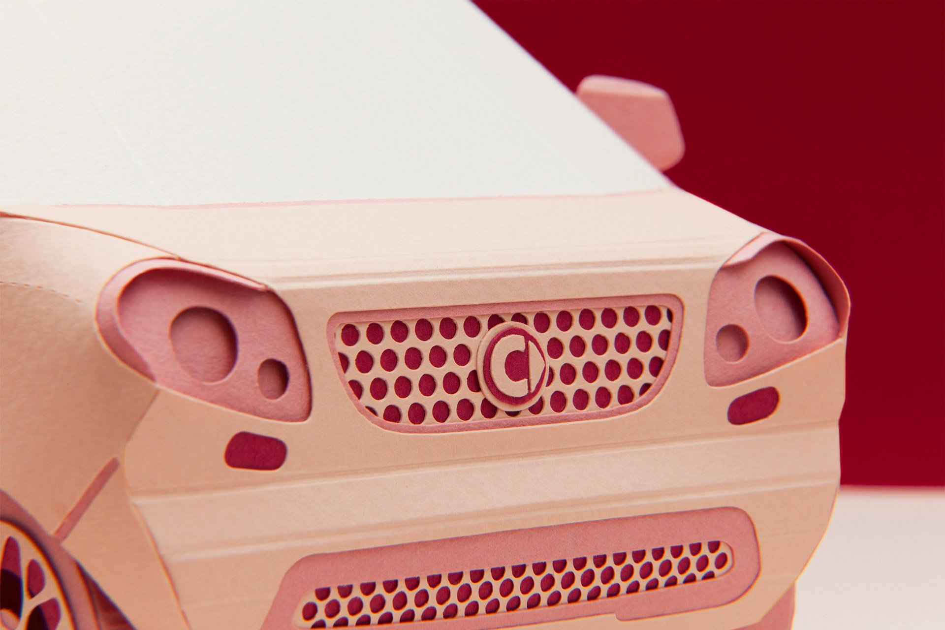 使用纸张创作视觉故事和精美的场景:Pratìc Design复杂纸艺作品