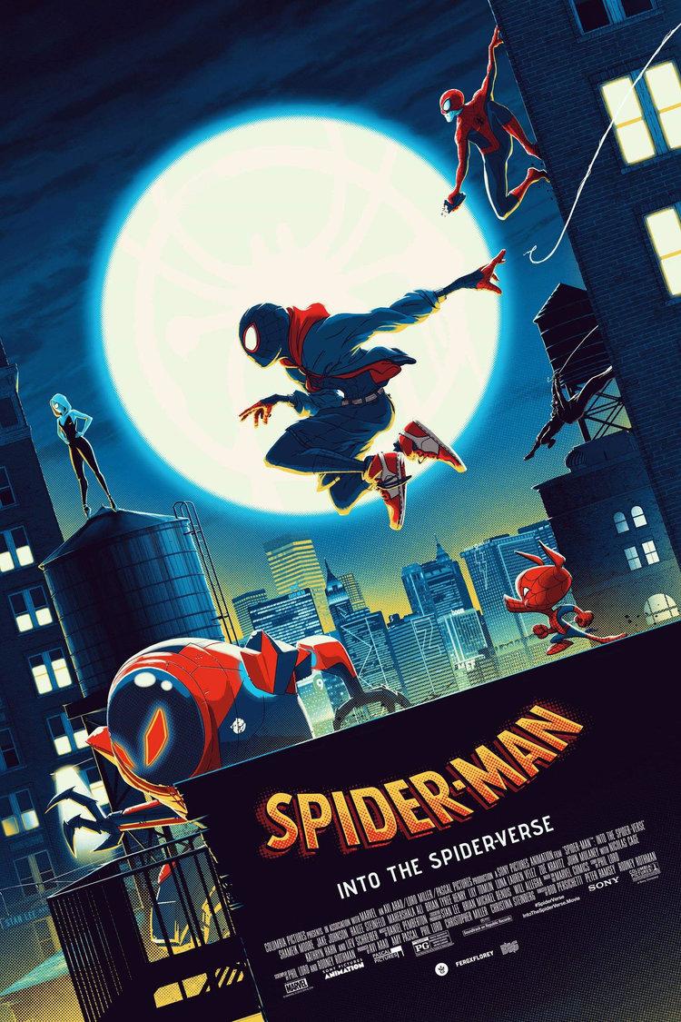 精致的色彩和细节 Matt Ferguson插画电影海报作品