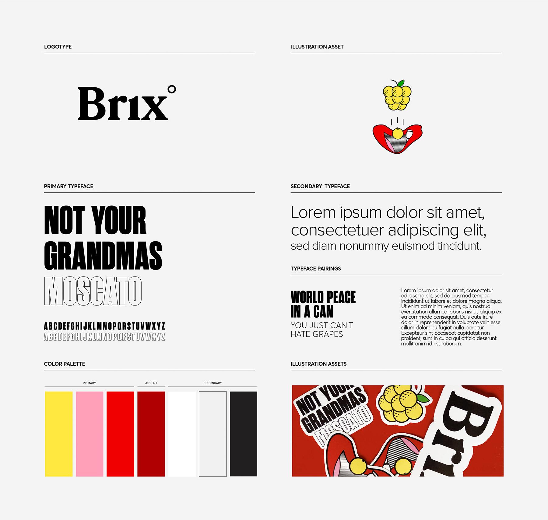 极简纯白! Brix饮料包装设计