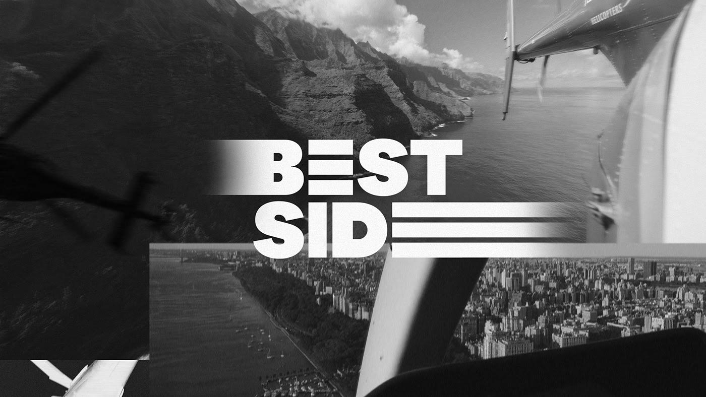 黑白 动态 Bestside Films电影公司品牌视觉设计