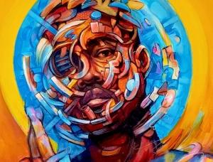 宗教绘画的风格与当代名人肖像相结合:Mathijs Vissers肖像画作品