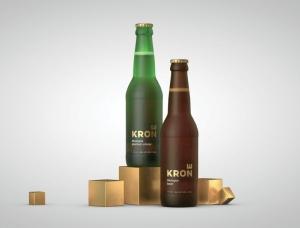 啤酒品牌Krone视觉和包装设计