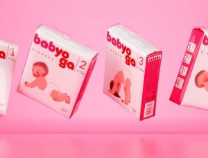 Babyoga婴儿纸尿裤包装设计