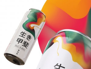 日本Ikigai发泡酒包装设计