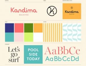 马尔代夫Kandima度假村视觉形象设计