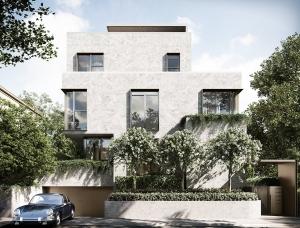 充满质感的墨尔本极简优雅别墅设计