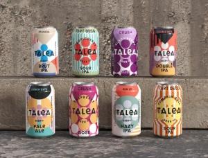 简练的几何图形 TALEA啤酒包装