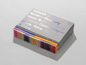纸张生产商Mohawk: Mohawk Maker Quarterly期刊版面设计