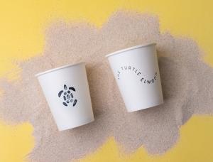 墨尔本The Turtle(龟)咖啡馆品牌形象设计