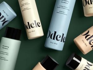 优雅配色 极简风格!护发品牌Odele视觉形象设计