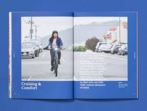 The New Wheel自行车产品画册设计