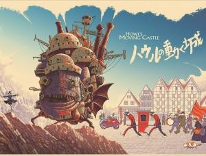 Cristian Eres插画风科幻电影海报
