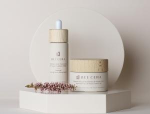 纯天然的极简设计和色彩,护肤品牌Bee Cera包装设计