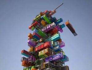 装配式集装箱建筑的概念和应用实例