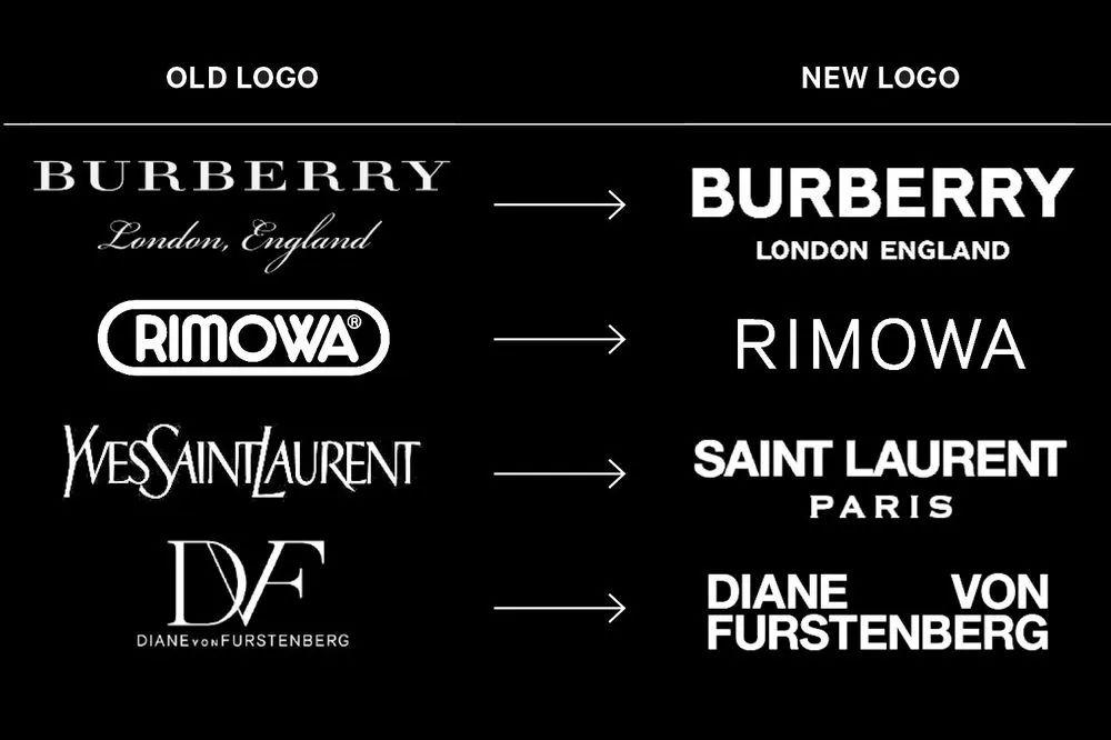 Helvetica 字体为何受到Burberry、Saint Laurent等奢侈品牌的青睐?