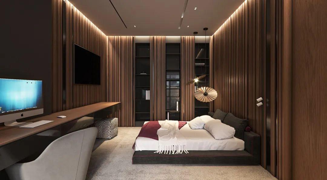 灵动空间!160平轻奢质感住宅设计