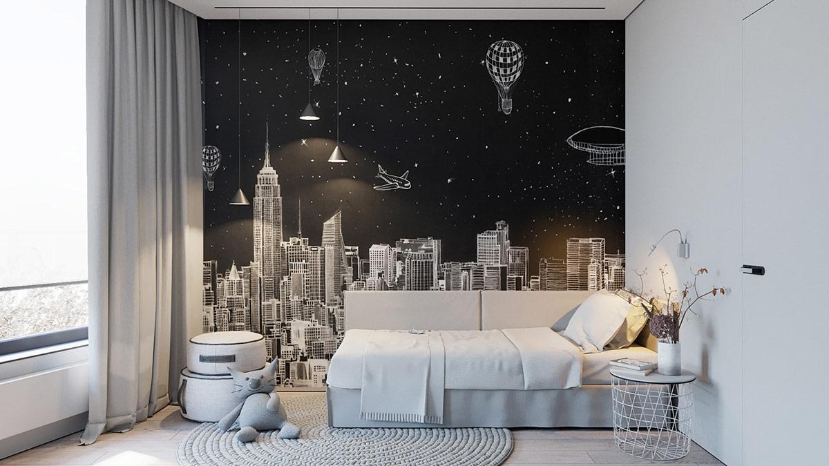 简单即是美!黑白现代简约主义风格家居设计