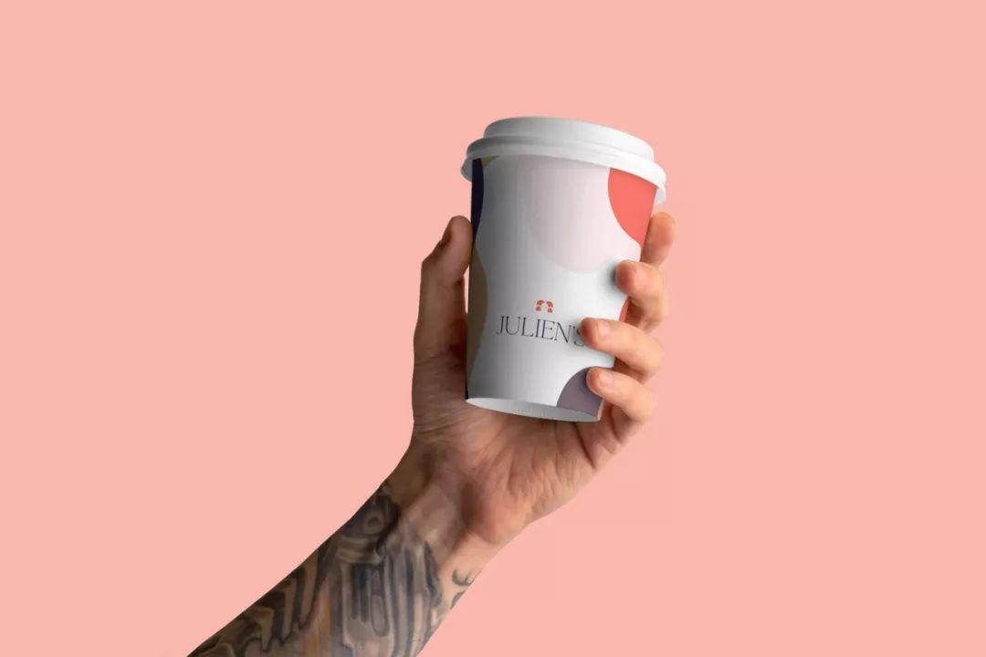 温馨安逸!Julien's咖啡馆品牌视觉设计