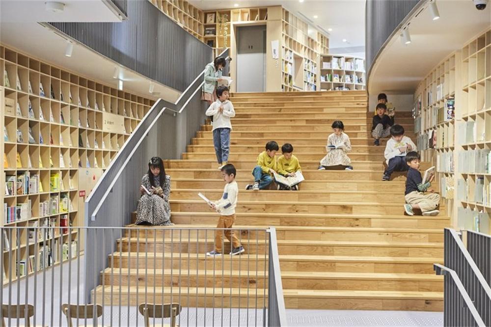 安藤忠雄作品:儿童图书森林 中之岛