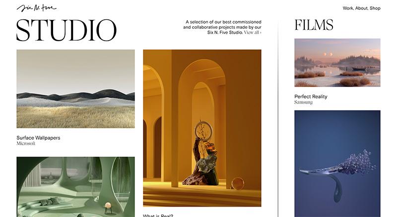 国外优秀WEB网页设计精选(56)