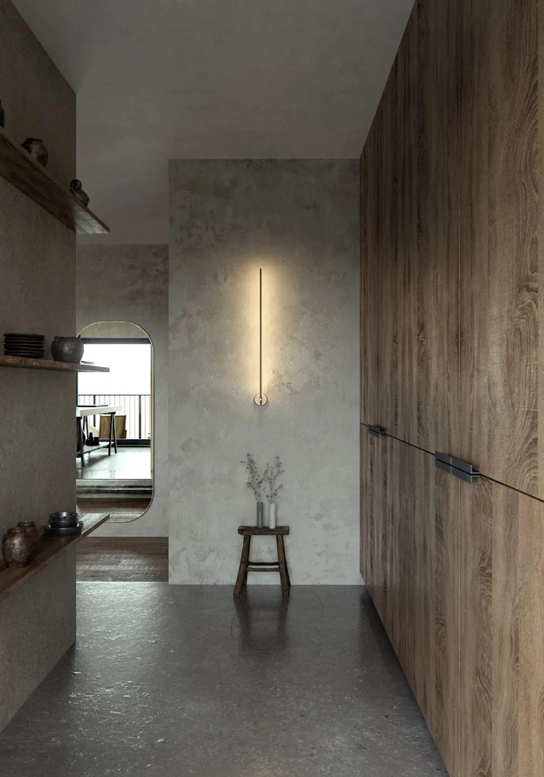 在不完美中发现美!侘寂风格现代住宅设计