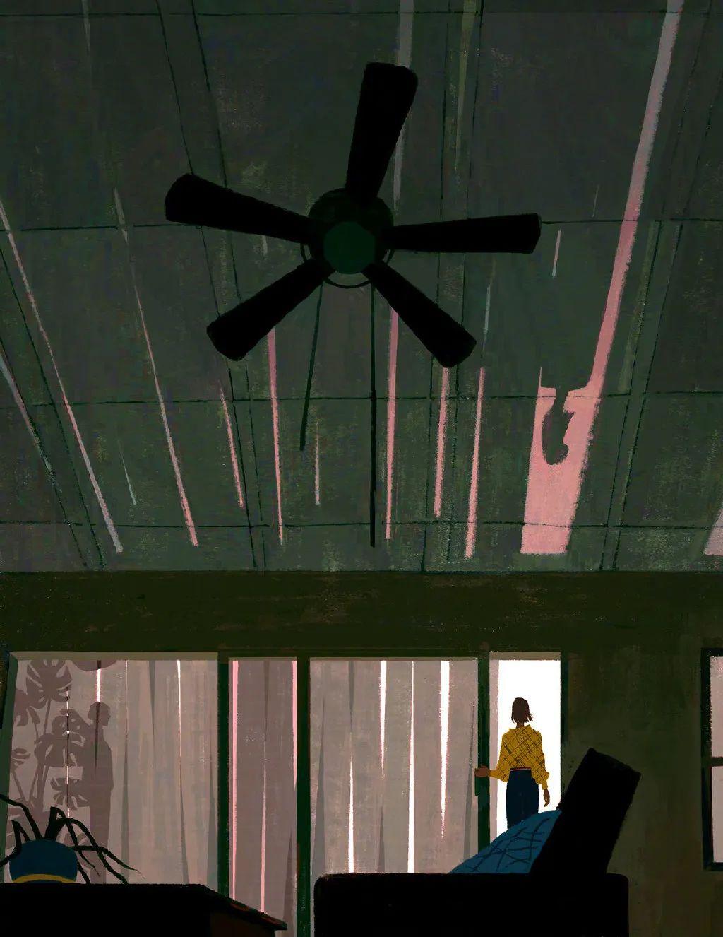 一幅画,一个故事!Katherine Lam插画作品
