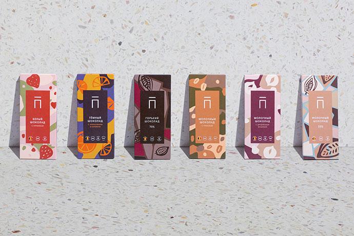 配色优雅的几何图案:25款创意包装设计