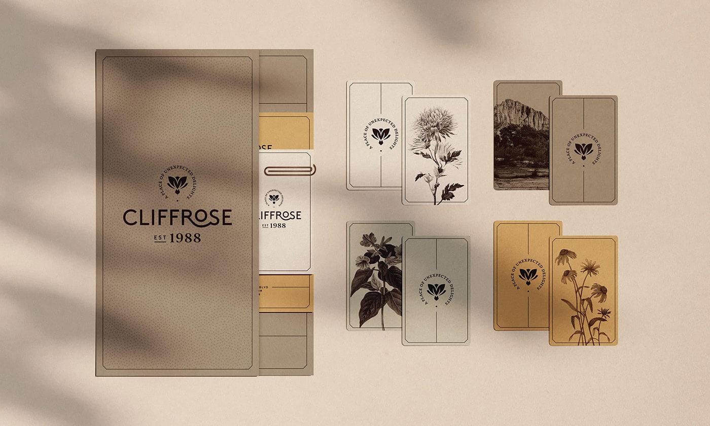 Cliffrose度假酒店品牌形象设计