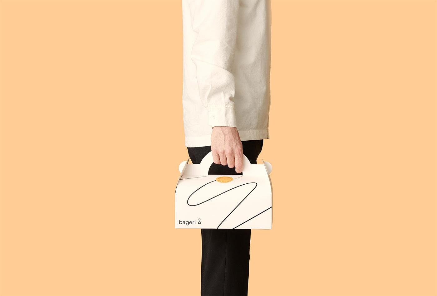 线条的魅力!Bageri面包房品牌视觉澳门金沙真人