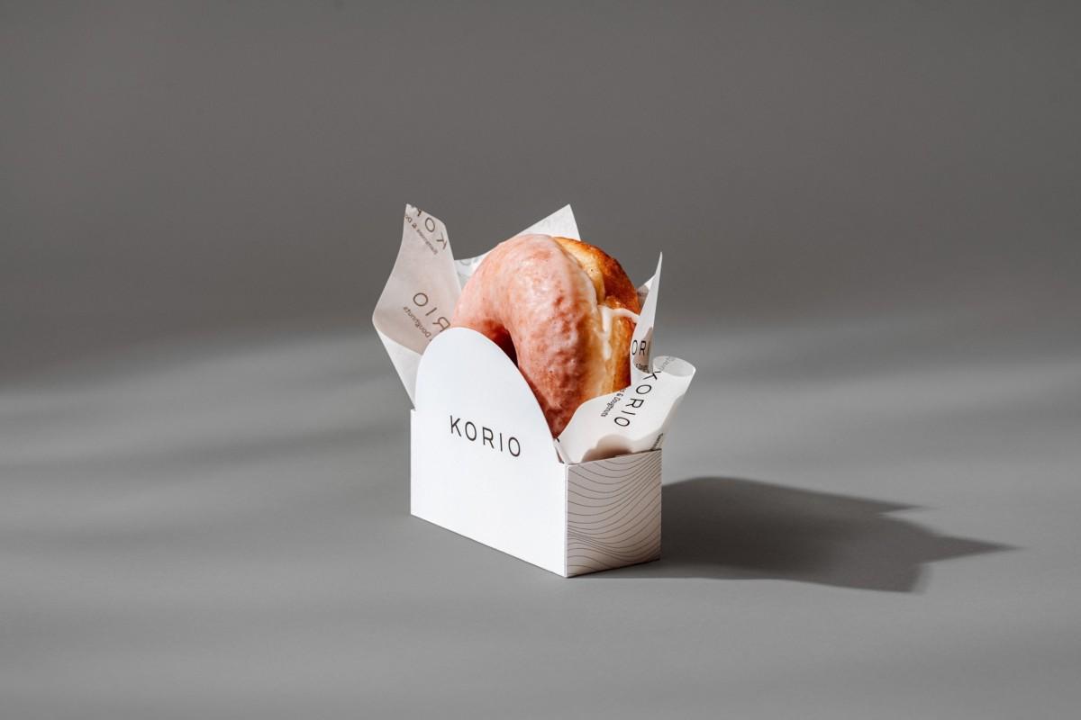 极简、黑白!新加坡Korio甜品店品牌形象澳门金沙真人