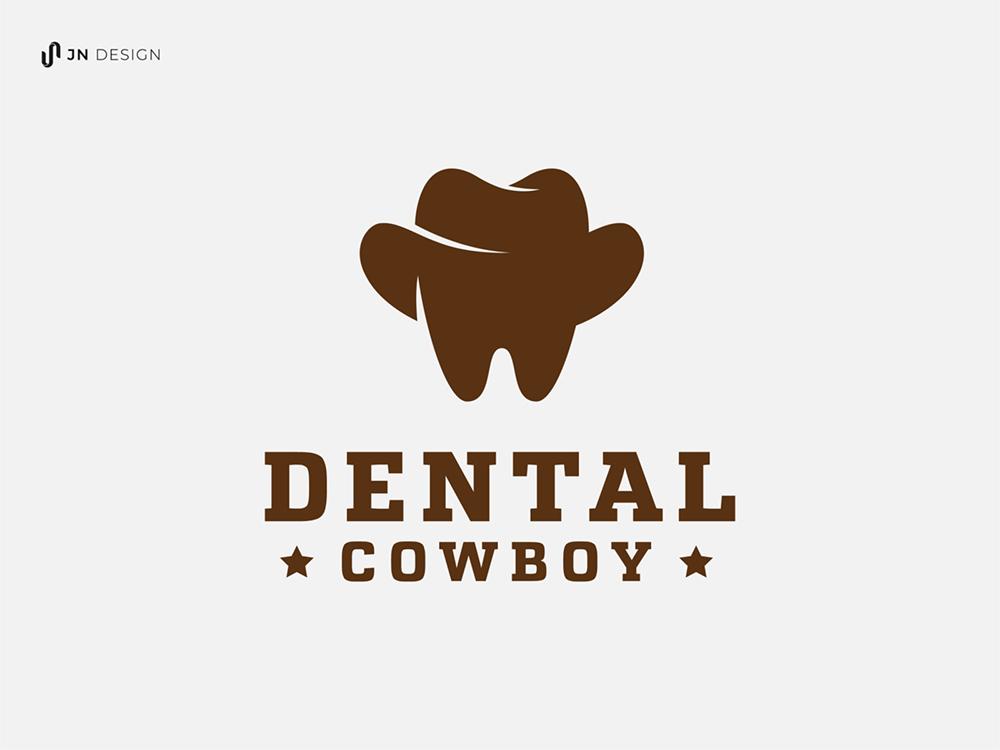 整齐洁白!20款牙齿元素logo澳门金沙真人