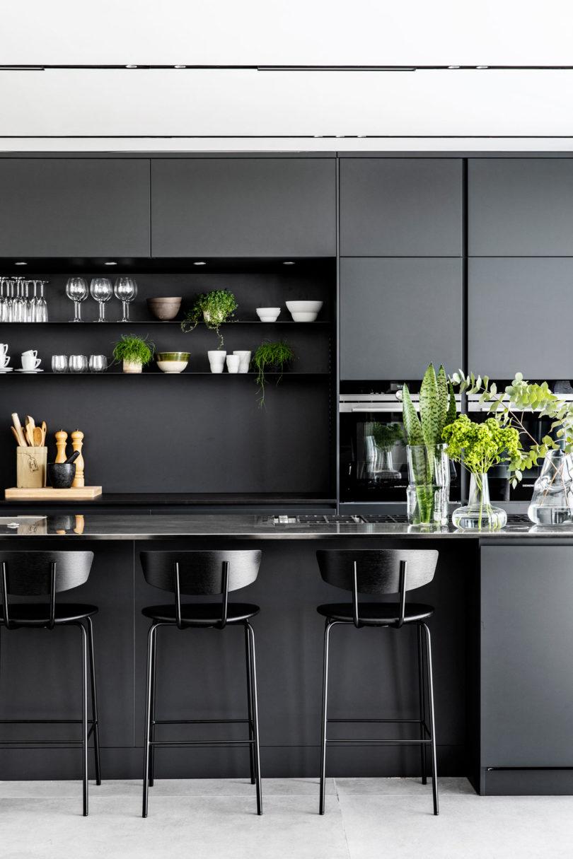 黑白魅力!以色列C公寓设计