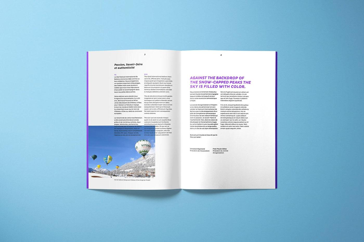 瑞士热气球节品牌概念设计