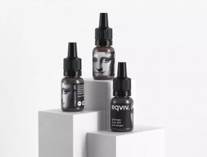 世界名画中的女人,eqviv.化妆品包装设计