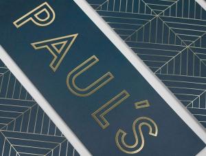 复古简约风!Paul's餐厅品牌形象w88手机官网平台首页