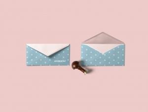 粉红+蓝,满满少女气息:Avemaria!女装和礼品店品牌设计