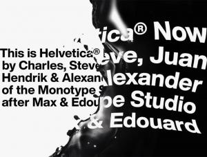Helvetica 字体为何受到Burberry、Saint Laurent等奢侈