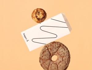 线条的魅力!BageriÅ面包房品牌视觉设计
