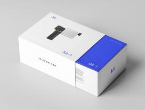 Mutecam S8–1摄像机品牌和包装设计