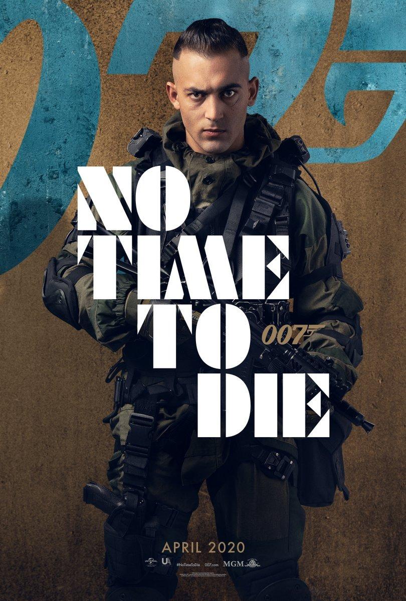 电影海报欣赏:007 无暇赴死(No Time to Die)