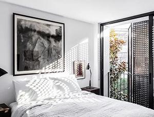 布满艺术气息的白色格调住宅