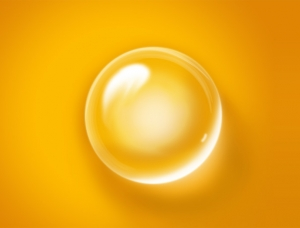 Photoshop制作质感透明气泡