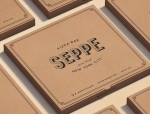 經典複古風!Seppe比薩店品牌形象設計