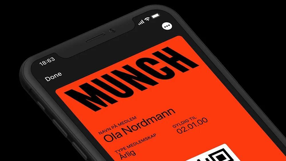 North设计工作室操刀设计:奥斯陆蒙克美术馆更新视觉形象