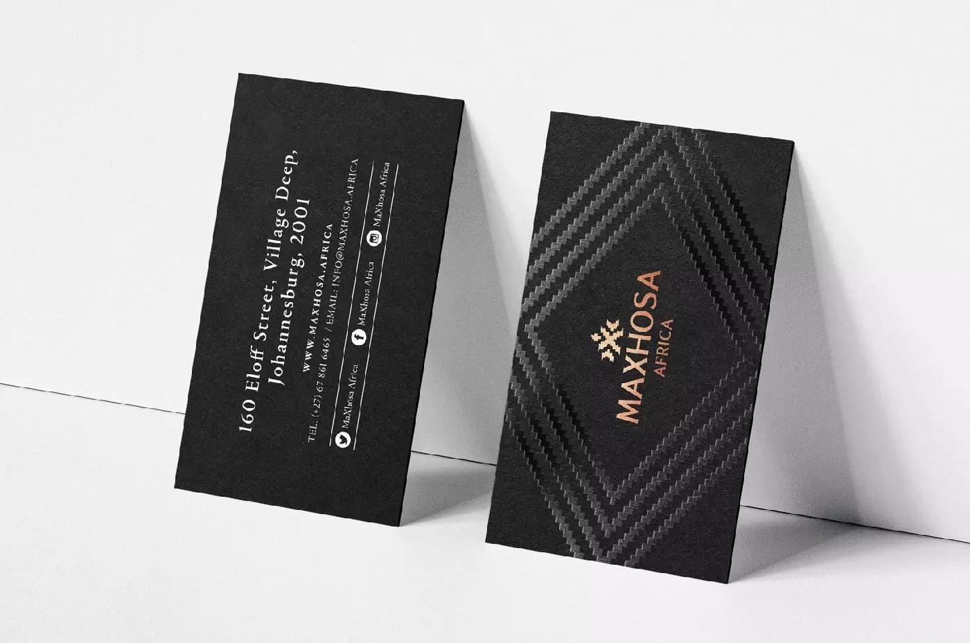 服饰品牌MAXHOSA AFRICA视觉形象设计