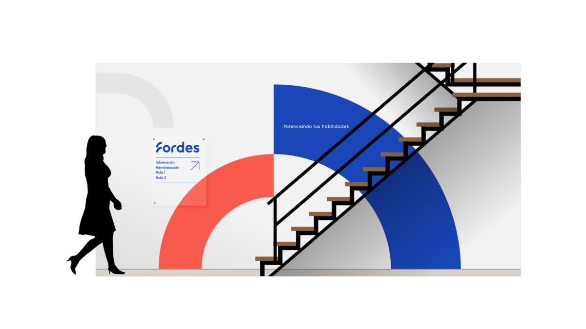 教育培训机构Fordes品牌视觉设计