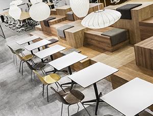 自由开放式空间的东京Eureka办公室