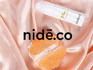舒服的配色!Nidé.co护肤品包装设计