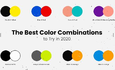 配色组合不会用?8个优秀色彩搭配案例分享给你