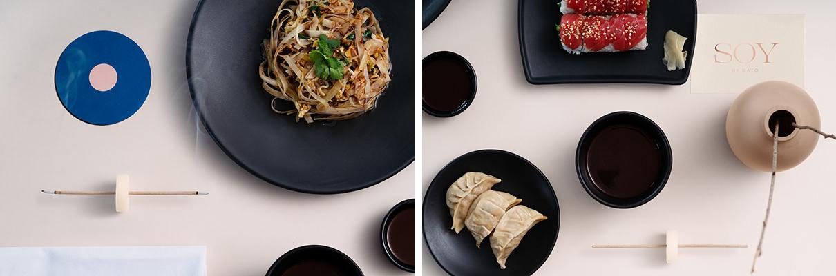 多哈Soy by Sato餐厅品牌形象设计